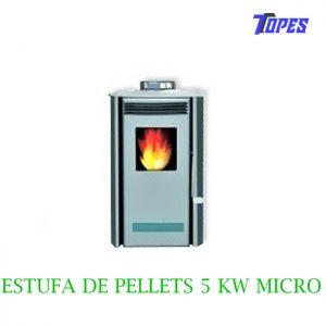 ESTUFA DE PELLETS 5 KW MICRO