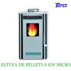 ESTUFA DE PELLETS 6 KW MICRO