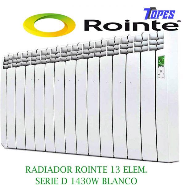 RADIADOR ROINTE 13 ELEM.SERIE D 1430W BLANCO