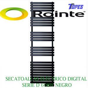 SECATOALLAS ELÉCTRICO DIGITAL SERIE D 600W NEGRO