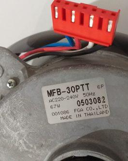 MOTOR VENTILADOR EXTERIOR MFB-30PTT ( Fujitsu-General-Fuji Electric )