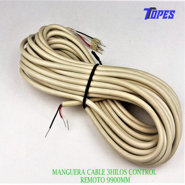 MANGUERA CABLE 3HILOS CONTROL REMOTO 9900MM