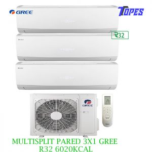 MULTISPLIT PARED 3X1 GREE R32 6020KCAL
