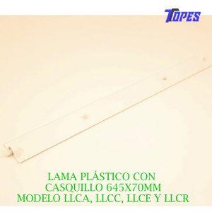LAMA PLÁSTICO CON CASQUILLO 645X70MM (Fujitsu, General, Hiyasu y Fuji- Electric)