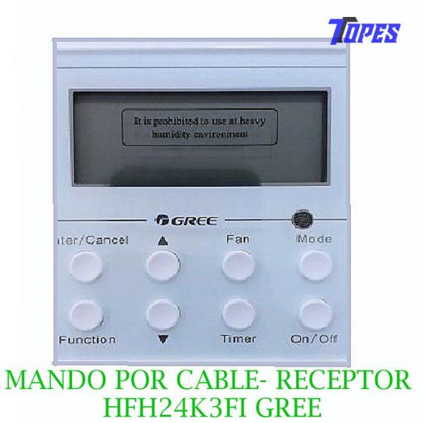 MANDO POR CABLE CON RECEPTOR HFH24K3FI GREE