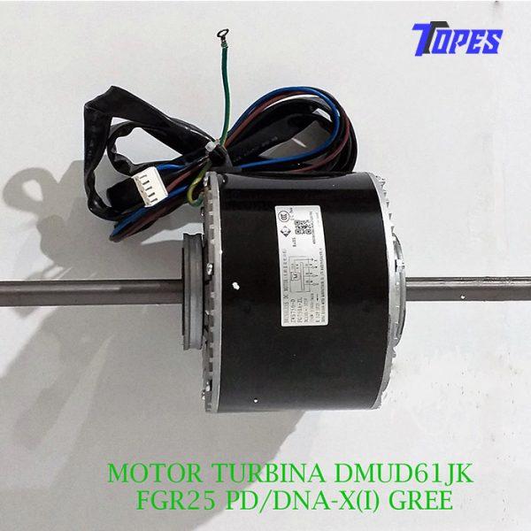 MOTOR TURBINA DMUD61JK FGR25 PD/DNA-X(I) GREE