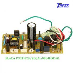 PLACA POTENCIA K06AL-0804HSE-P0