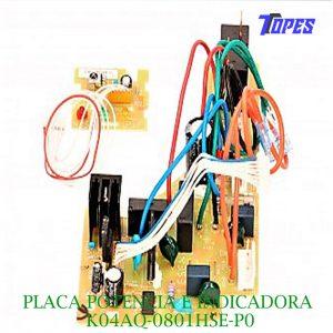 PLACA POTENCIA E INDICADORA K04AQ-0801HSE-P0