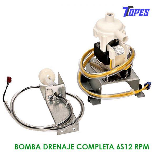 BOMBA DRENAJE COMPLETA 6S12 RPM