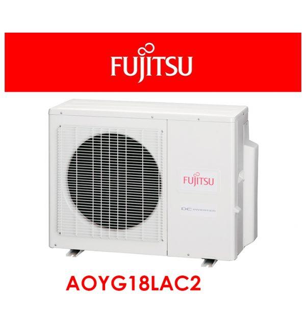 Multisplit pared 2x1 Fujitsu4300Kcal