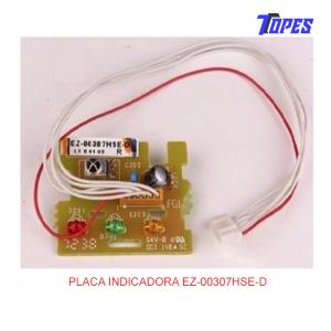PLACA INDICADORA EZ-00307HSE-D