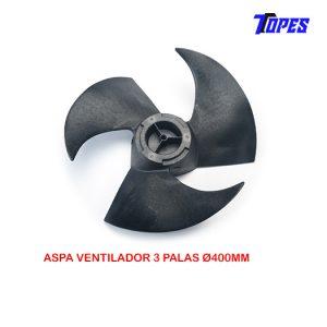 ASPA VENTILADOR 3 PALAS Ø400mm