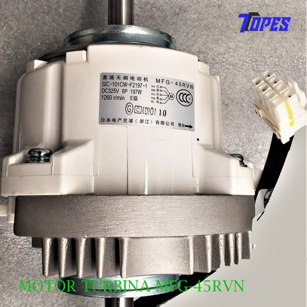 MOTOR TURBINA MFG-45RVN