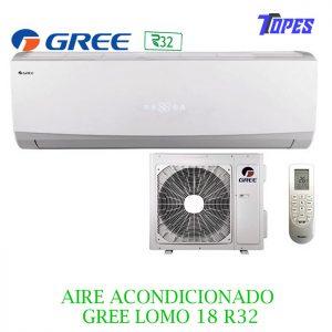 AIRE ACONDICIONADO GREE LOMO18R32