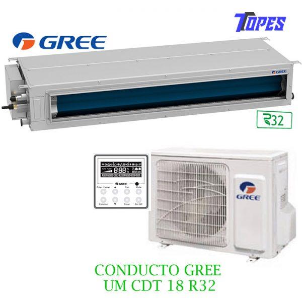 EQUIPO CONDUCTO GREE UMCDT18R32