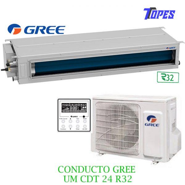 EQUIPO CONDUCTO GREE UMCDT24R32