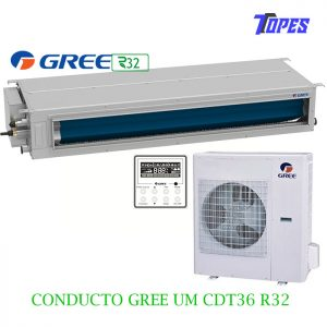 EQUIPO CONDUCTO GREE UMCDT36R32