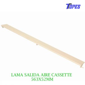 LAMA SALIDA AIRE CASSETTE 563X52MM