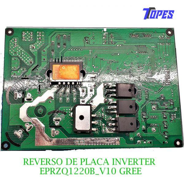 REVERSO DE PLACA INVERTER EPRZQ1220B_V10 GREE