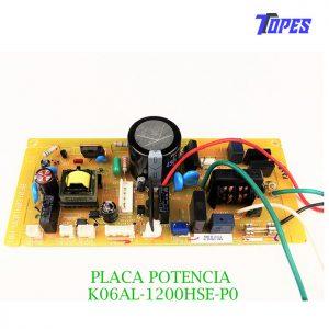 PLACA POTENCIA K06AL-1200HSE-P0