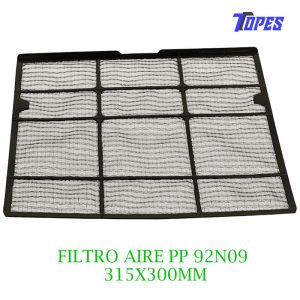 FILTRO AIRE PP 92N09 315x300mm
