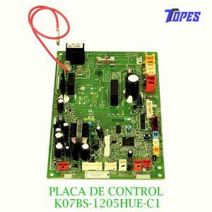 PLACA DE CONTROL K07BS-1205HUE-C1