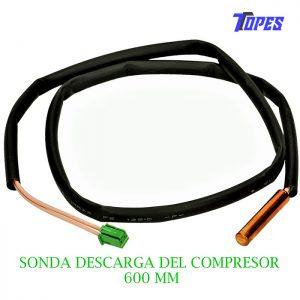 SONDA DESCARGA COMPRESOR 600 MM