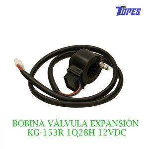 BOBINA VÁLVULA EXPANSIÓN KG-153R 1Q28H 12VDC