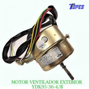 MOTOR VENTILADOR EXTERIOR YDK95-36-4/B