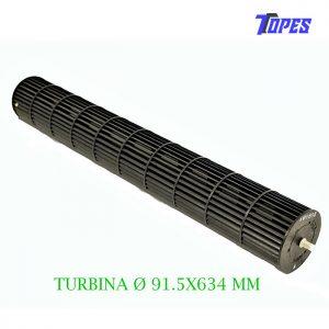 TURBINA Ø 91.5X634 MM