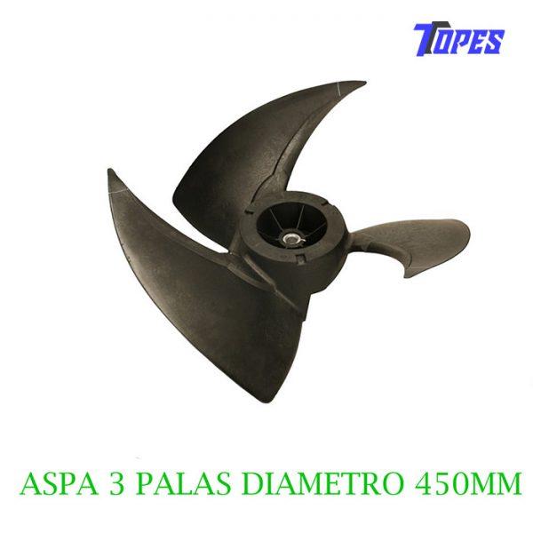 ASPA VENTILADOR 3 PALAS Ø 450mm