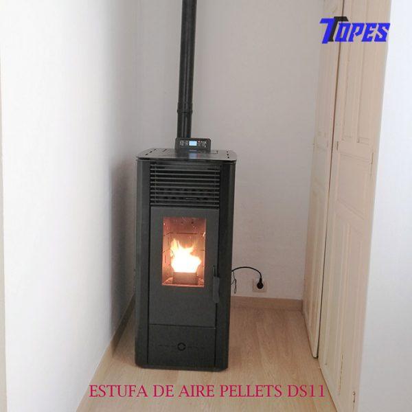 ESTUFA DE AIRE PELLETS DS11