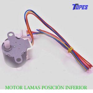 MOTOR LAMAS POSICIÓN INFERIOR