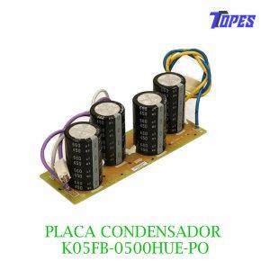 PLACA CONDENSADOR K05FB-0500HUE-PO