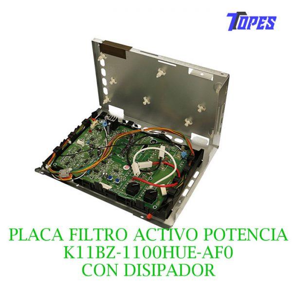PLACA FILTRO ACTIVO POT. K11BZ-1100HUE-AF0 C/ DISIPADOR