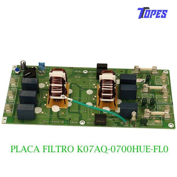 PLACA FILTRO K07AQ-0700HUE-FL0