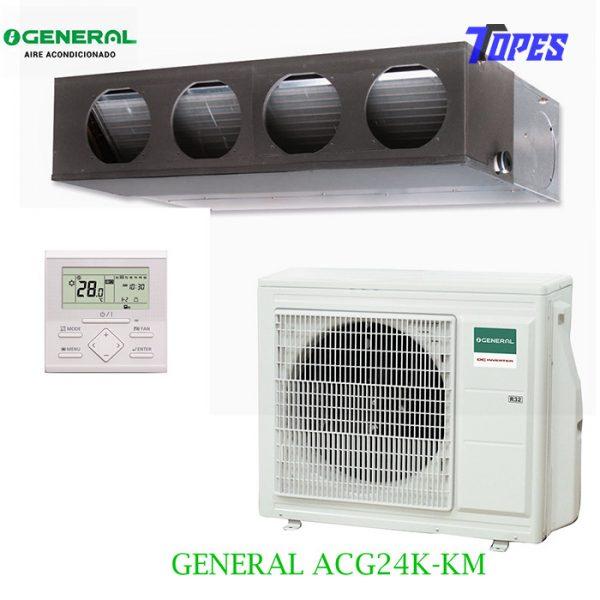 Aire acondicionado General ACG24K-KM