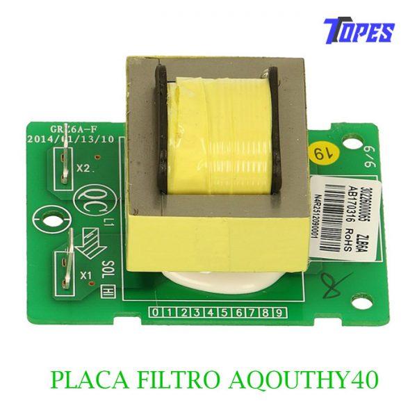 PLACA FILTRO AQOUTHY40