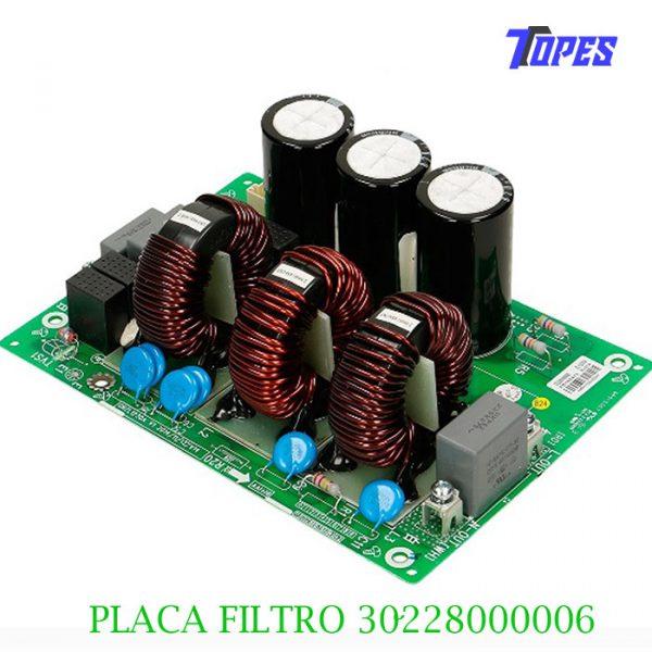 PLACA FILTRO 30228000006