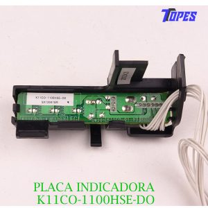 PLACA INDICADORA K11CO-1100HSE-DO