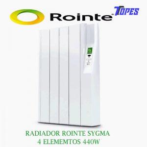 RADIADOR ROINTE SYGMA 4 ELEM. 440W