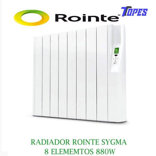 RADIADOR ROINTE SYGMA 8 ELEM. 880W