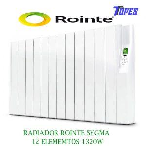 RADIADOR ROINTE SYGMA12 ELEM. 1320W
