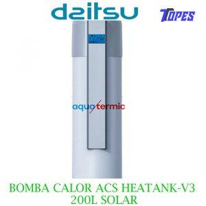 BOMBA CALOR ACS HEATANK-V3 200L SOLAR