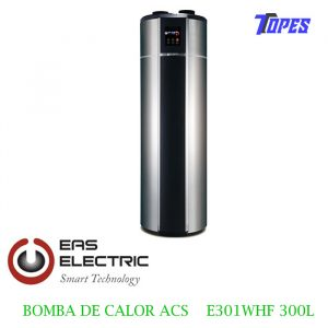 BOMBA DE CALOR ACS EAS ELECTRIC E301WHF 300L