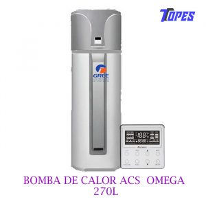 BOMBA DE CALOR ACS OMEGA 270L GREE