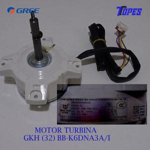 MOTOR TURBINA GKH (32) BB-K6DNA3A/I