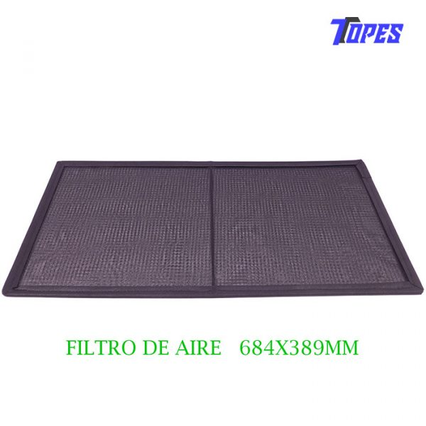 FILTRO DE AIRE 684x389mm
