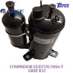 COMPRESOR GUD71W/NhA-T GREE R32