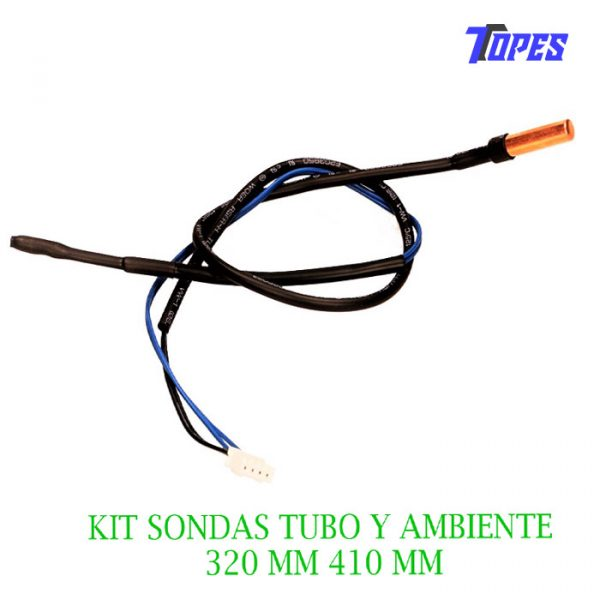 KIT SONDAS TUBO Y AMBIENTE 320 MM 410 MM